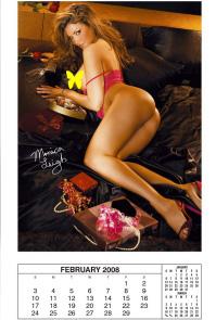 Calendario Play Boy.Calendario Playboy 2008 Bajandopanza